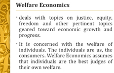 WelfareEconomics