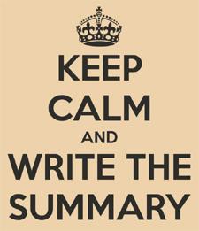 WriteTheSummary