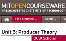 Click for MIT OCW course