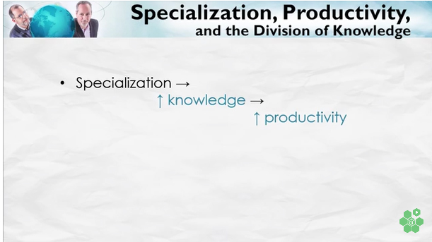 Specialization-Knowledge