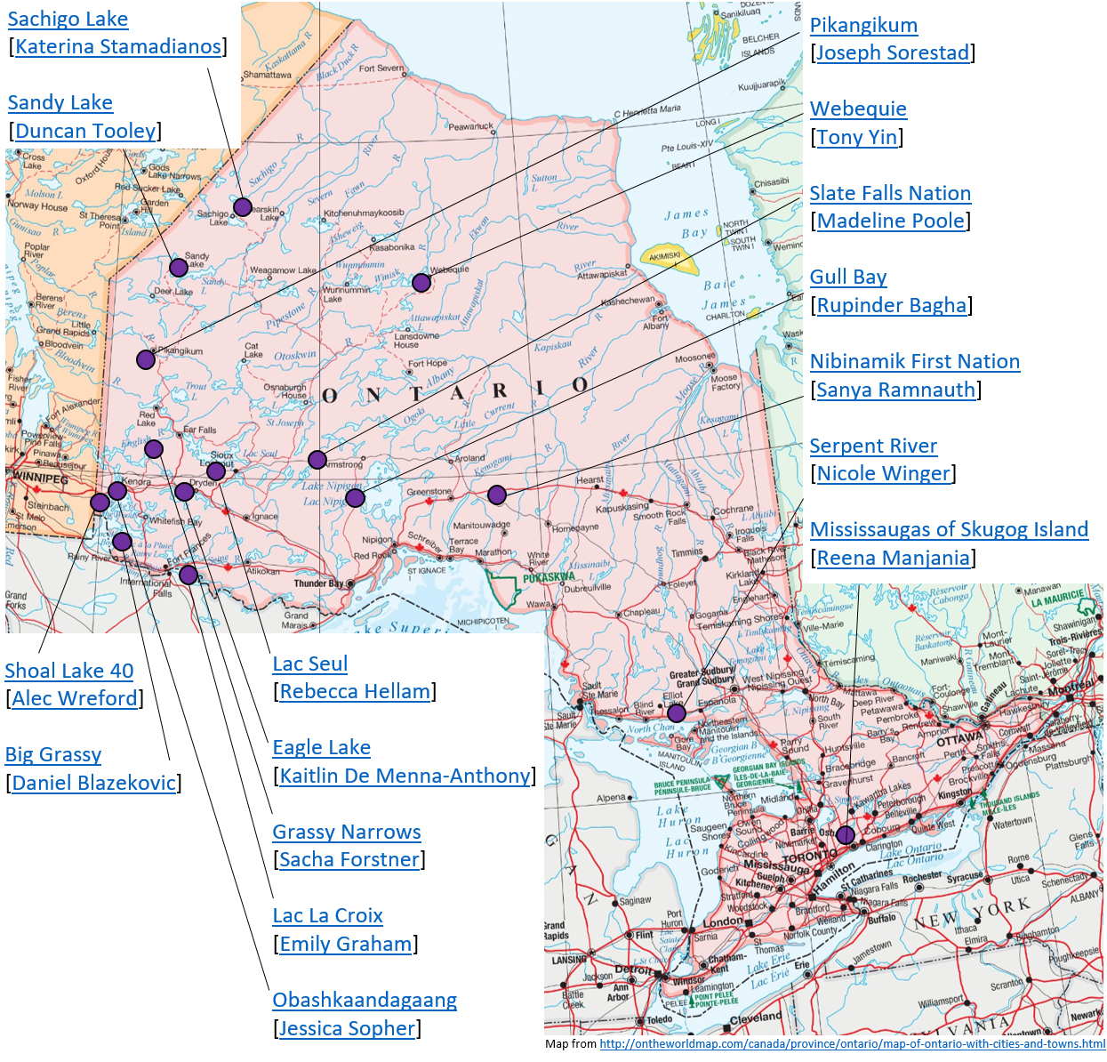 First Nations Drinking Water – Atlas of Public Management